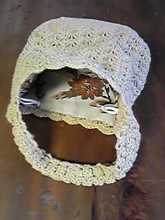 ミサさんのおばあちゃんの編みバック