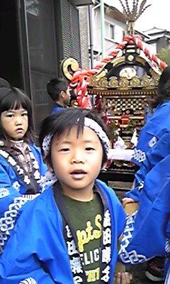 村の鎮守のお祭り