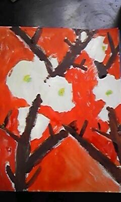 一月のお絵描き教室