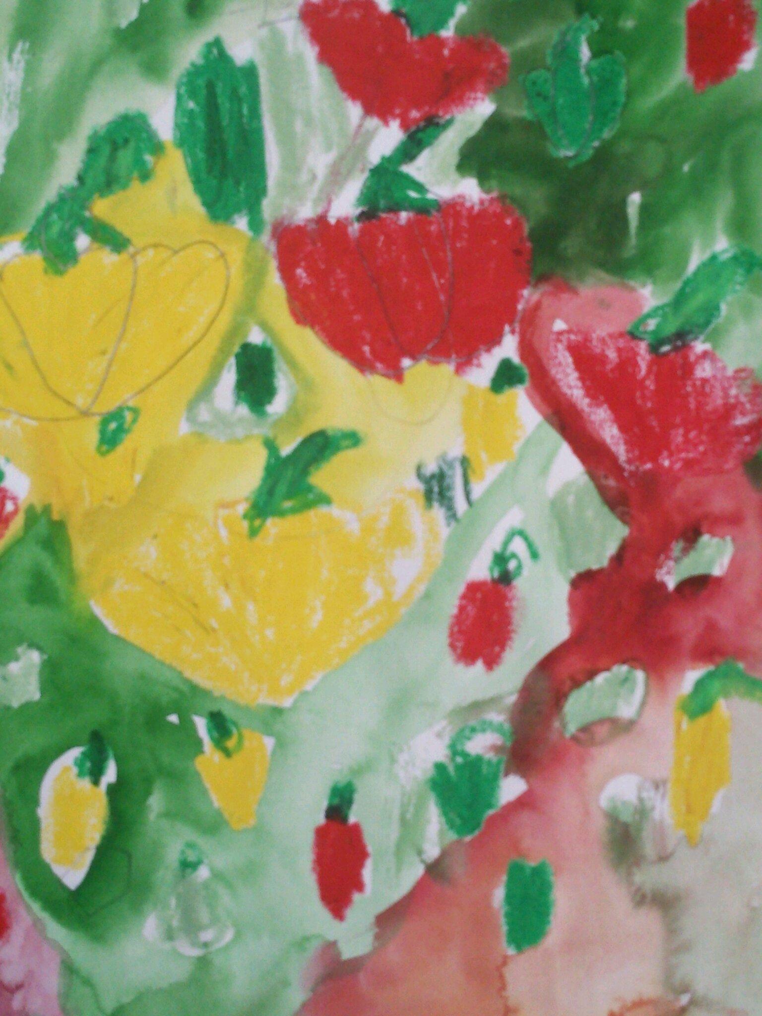 7月のお絵描き教室  2