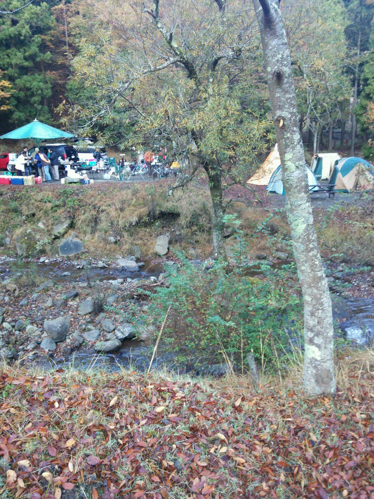 キャンプに行きました。